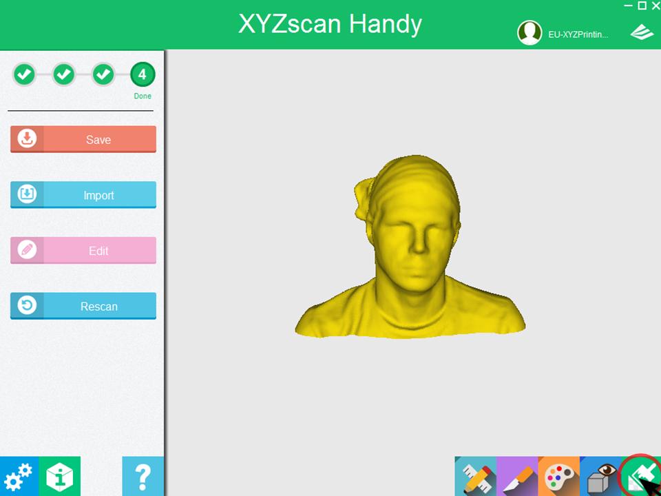 February 2018 – 3D Scanner