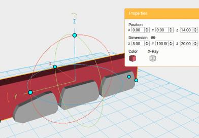 XYZmaker tutorial – Robot Hand part 2