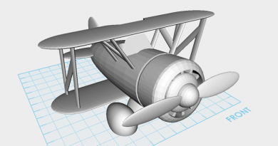 XYZmaker tutorial – Airplane part 1