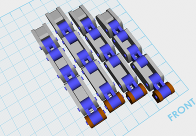 XYZmaker tutorial – Robot Hand part 4